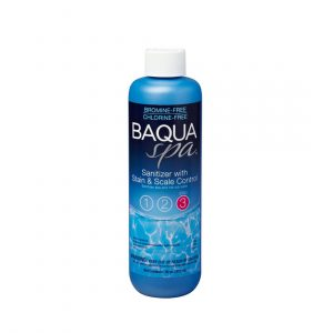 Baqua Spa® Sanitizer with Stain and Scale Control Step 3