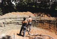 Gunite Pool Installation Step 4