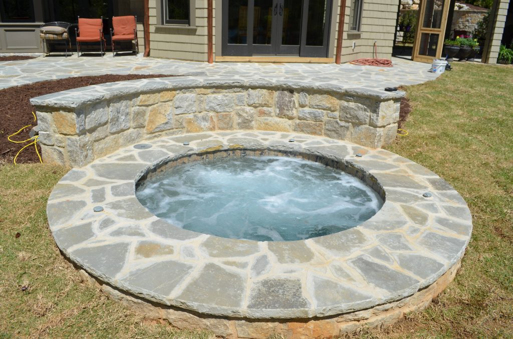 stone masonry and spa