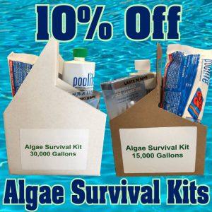 10% Off Algae Survival Kits
