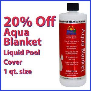 Aqua Blanket Liquid Pool Cover